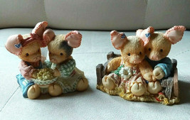 Enesco This Little Piggy Lot of 2 No Box Never a Boar with You Home Suweet Home - $15.51