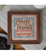 Coffee & Friends #5 Cool Beans series cross sti... - $5.40