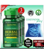 3x HERBAL LAXATIVE Constipation Relief Detox Cleanse Slimming Supplement... - $24.25