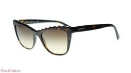 Valentino Sunglasses VA4022 500213 Havana/Brown Lens Italian Authentic 54mm - $193.03