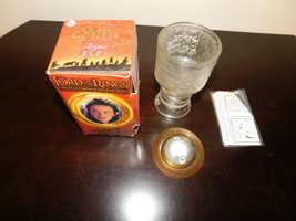 lord of the rings arwen drinking glass vintage burger king in box light ... - $5.00