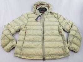 new JANJI men jacket coat 21331-F18-AQG Ainsulated packable sea pine run... - $69.29