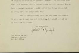 John D Rockefeller Jr Autographed Typed Letter Signed TLS 1923 George F ... - $233.59