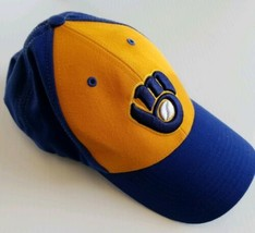 Milwaukee Brewers MLB Cooperstown Collection 1982 Twins The Closer Fitted Hat S image 2