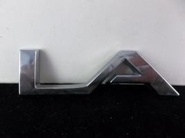 """2008-2012 Buick Enclave """"LA"""" Plastic Liftgate Letter Emblem OEM - $8.00"""