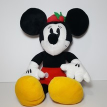 Galerie Minnie Mouse Christmas Plush Stuffed Animal Holly Hat - $13.64