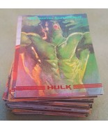 1993 marvel masterpieces near complete set 71/90 - $12.00