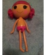 Lalaloopsy Coral Sea Shells Mermaid Doll Hot Pink Hair Full Size Bath ti... - $10.40