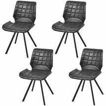 vidaXL Set of 4 Dining Office Living Room Kitchen Chair Artificial Leath... - $133.99