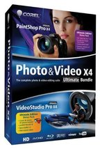 Brand New! Corel Photo and Video Pro X4 Ultimate Bundle w/ 3D glasses - $19.95