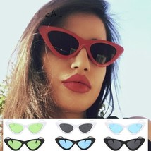 Women Sunglasses Cat Eye Vintage Luxury Female Shades Anti Reflective Su... - $12.98