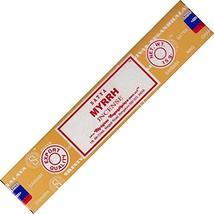 ABN Fashion Satya Myrrh Sticks Incense Natural Fragrance Hand Rolled Indian Agar - $8.29