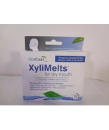 OraCoat XyliMelts for Dry Mouth Slightly Sweet (mint-free) 40 Discs *REA... - $15.90