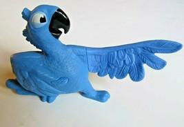 2011 Plastic Blu MaCaw - McDonalds -  Action Figurine Rio Movie - J. Eis... - £3.81 GBP
