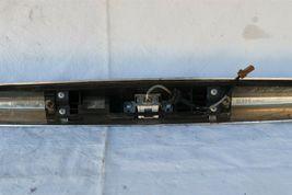 07-10 Infiniti G35 G37 4dr Sedan Trunk Lid Finisher Trim Chrome NO CAMERA image 5