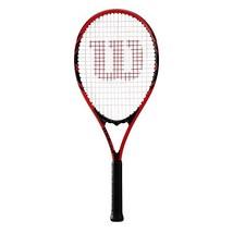 "Wilson Sporting Goods WRT30480U3 Federer Tennis Racket, 4 3/8"", Red/Black - $30.05"
