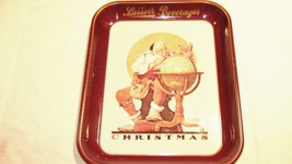 Norman Rockwell Limited Edition 1976 Christmas Tray - $12.91
