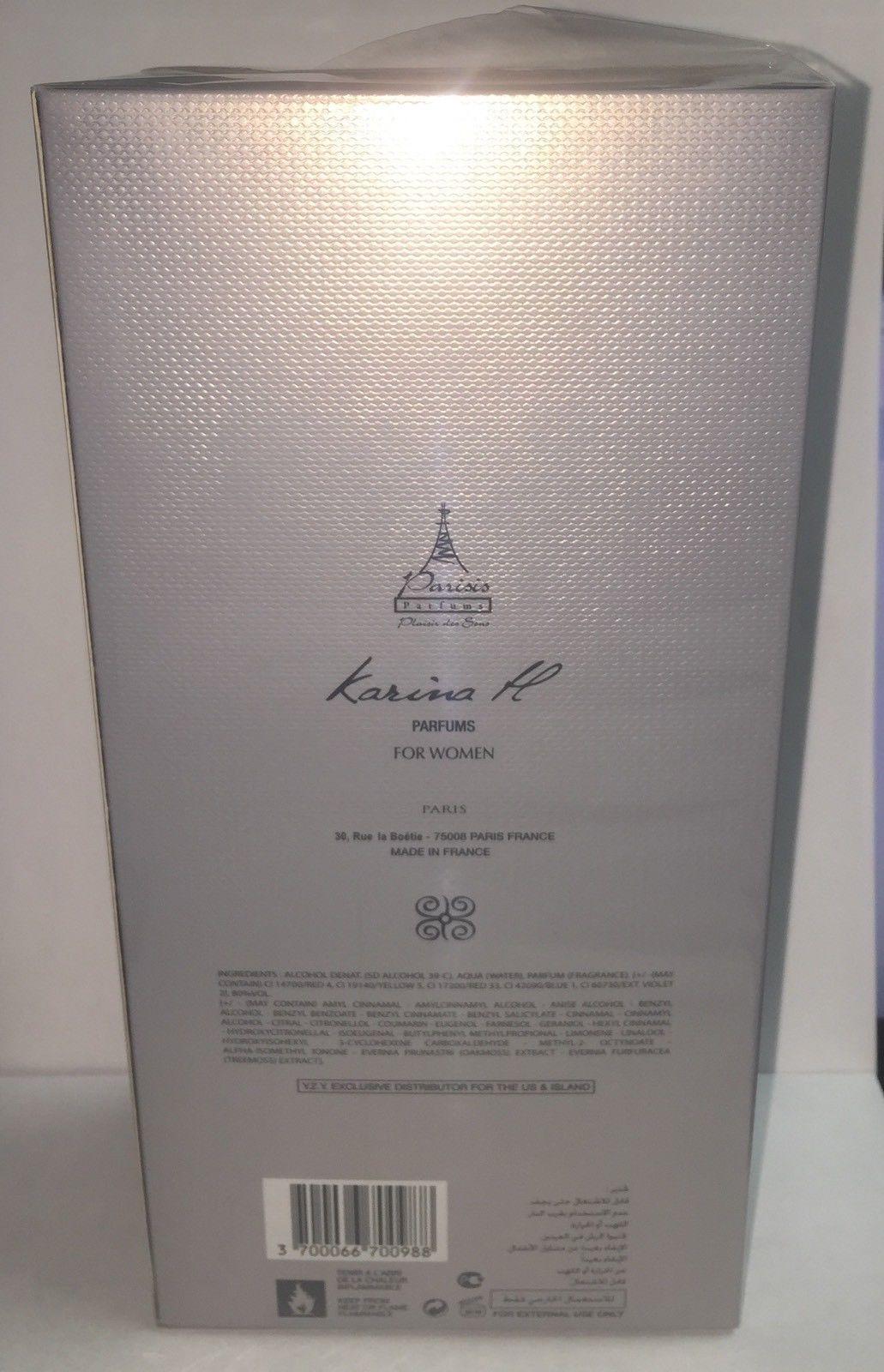 KARINA. H Romance in Venezia 80 ml /2.64 oz EDP Spray Woman,New in box & Sealed