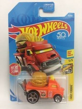 Hot Wheels Buns Of Steel Fast Foodie First Edition Orange Stampd 50  - $6.43