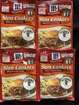 McCormick Slow Cookers BBQ Pulled Pork Seasoning Mix Lot of 4 - $18.69