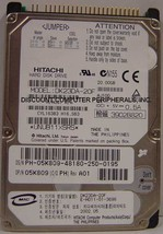 "20GB 2.5"" IDE Drive Hitachi DK23DA-20F Tested Good Free USA Ship Our Dri... - $9.95"