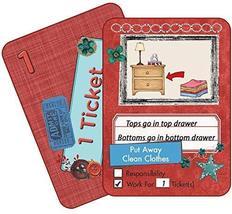 NEATLINGS Self-Care Chore Deck | Reward Responsibility | Red - $12.95