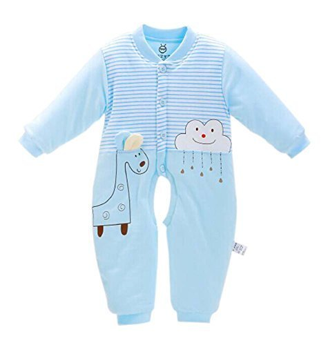 Baby Winter Soft Clothings Comfortable and Warm Winter Suits, 61cm/Blue