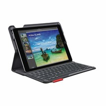 Logitech TYPE+ PROTECTIVE iPAD AIR 2 CASE w/ INTEGRATED BLUETOOTH KEYBOA... - $109.30