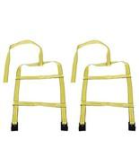 Car Basket Straps, 2pcs Adjustable Car Wheel Straps Tow Dolly Basket Set... - $27.81