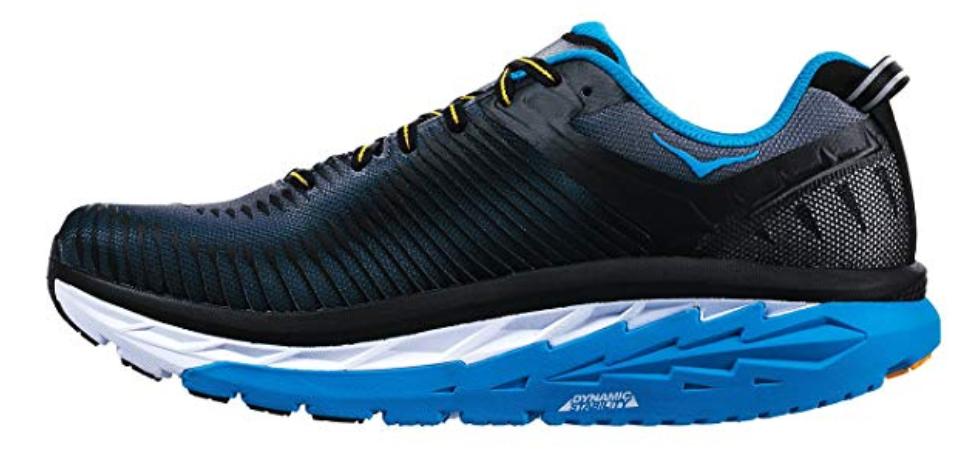 Hoka One One Arahi 2 Size 8.5 M (D) EU 42 Men's Running Shoes Black 1019275