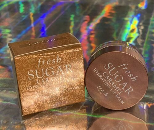 New In Box FRESH Sugar Lip Caramel Hydrating Balm 2g Travel Sz