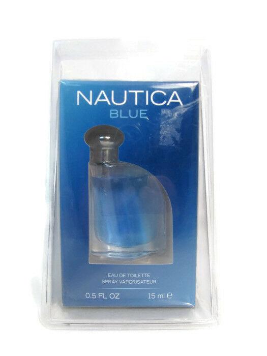 Nautica Men's Eau De Toilette Cologne Spray Coty Blue 0.5 Fl Oz NEW Sealed