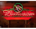"""Pre-Prohibition Neon Budweiser Sign*Authentic*46"""" x 31"""" x 5""""*Taking Offers"""