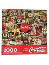 "Always Coca-Cola 2000 Piece Jigsaw Puzzle Springbok for Hallmark 1998  34""x42.5"" - $24.99"