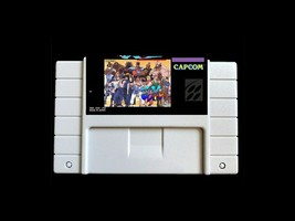 Street Fighter EX plus Alpha SNES Super Nintendo Ryu Ken Guile Arcade Ve... - $19.79