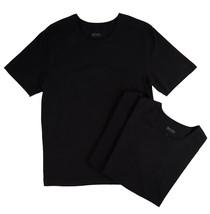 Hugo Boss Men's 3 Pack Pure Cotton Shirt Regular Fit Crew Neck T-Shirt 50325385 image 2