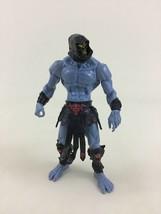 "Skeletor He-Man MOTU Action Figure Black Armor Toy 6"" 2001 Mattel Figure - $14.80"