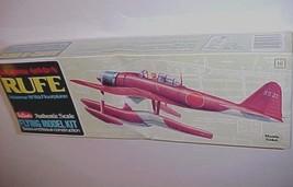 Guillows Nakajima A6M2-N Rufe Japanese WW2 Floatplane Flying Model Kit 507 New - $19.79