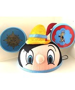 Disney Parks Exclusive Pinocchio Ears Hat NEW - $26.63