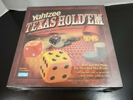 Yahtzee Texas Hold 'Em Game - NEW - Parker Brothers - $15.68