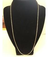 Vintage Silvertone Necklace - $5.00