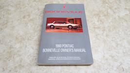 FACTORY OEM 1990 Pontiac Bonneville owners manual L-207 - $10.53