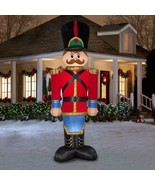 Huge 12 ft Airblown Inflatable Nutcracker Soldier Outdoor Christmas Deco... - $227.10