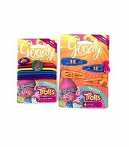 Trolls Hair Elastic Ties and Hair Clip Set - $6.92