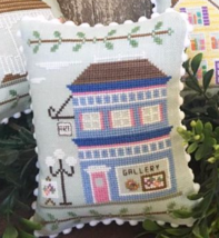Art Gallery #5 Main Street Station cross stitch chart Country Cottage Ne... - $5.40