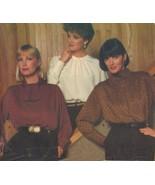 Misses Ellen Tracy Career Work Office Pullover Blouses Shirt Sew Pattern 14-18 - $12.99
