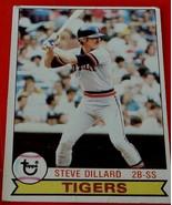Steve Dillard, Tigers, 1979, #217 Topps Baseball Card,  GOOD CONDITION - $0.99