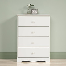 Small Drawer Chest 4 Tier Organizer Storage Wood Dresser Bedroom Kids Ca... - $148.33