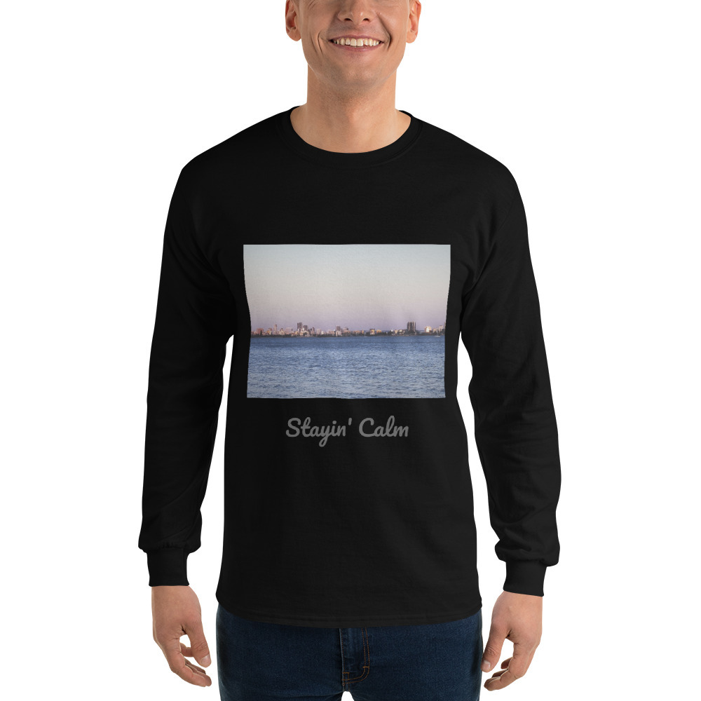 Primary image for Stayin' Calm Men's Long Sleeve Shirt