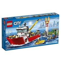 LEGO CITY Fire Boat 60109 Building Set New - $89.99
